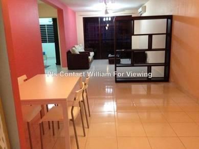 Putra Villa Condominium, Freehold, Partially Furnished, Setapak