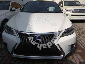 Lexus CT200 facelift f-sport FRONT conversion SET