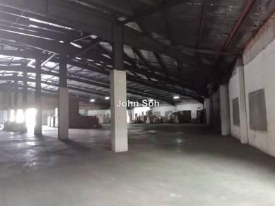 Factory Jln Kebun, Klang to let