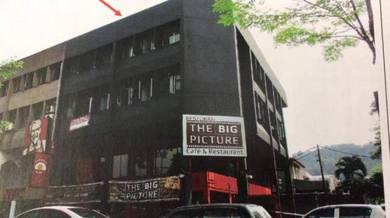 3.5 Storey Shop Lot Corner Taman Pertama Cheras MRT Station KFC