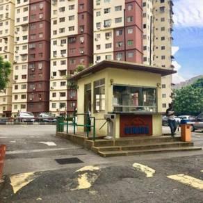 Pangsapuri Cemara Apartment, Bandar Sri Permaisuri Cheras, LRT, Bank