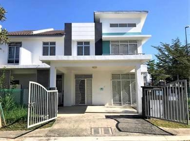 SPACIOUS, EXTRA LAND - Double Storey CLUSTER HOUSE TAMAN BERNAM JAYA