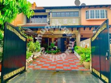 Booking 1k- double storey terrace, Taman Tun Dr Ismail TTDI
