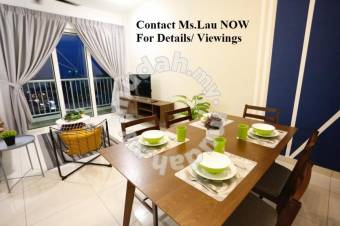 Big Offers(93% Loan)-Court 28, FH New Completed+ 5KM to KLCC+ MRT/KTM
