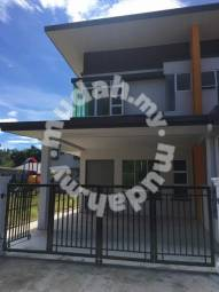 Taman gemilang nampasan   corner double-storey   for sale