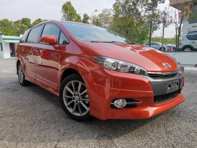 2014 Toyota WISH 2.0 Z FACELIFT UNREGISTER JAPAN