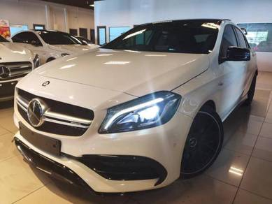 2016 Mercedes Benz A45 AMG 2.0 FACELIFT WHITE FULL