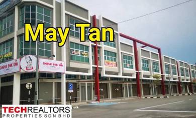 Juru New Shoplot at 1 City near Auto City Bukit Minyak Industrial Park