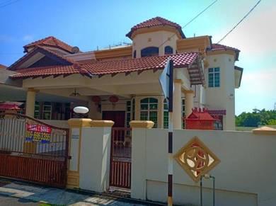 Ujong Paisr Padang Temu TMN PERMATANG PASIR PERMAI 2sty SEMI D