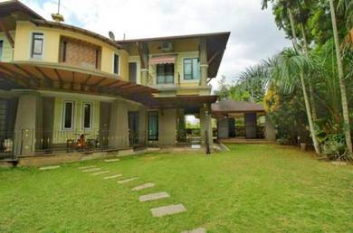 Golf Course View: Tropical Concept, 2 Sty Bungalow, Bangi Golf Resort