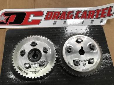 Drag Cartel Intake-Exhaust Cam Gear Set K20A K24A