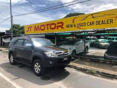 2007 Toyota FORTUNER 2.7 V (A) 4x4 New Tyre