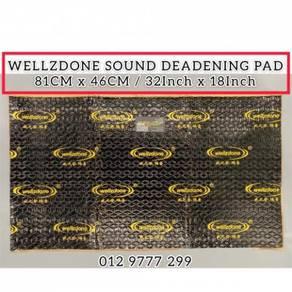 Wellzdone Car Sound Proof Deadening Pad Anti Rust