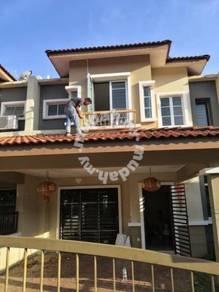 Superlink Double storey house, 4R3B Garden City Homes, Seremban 2