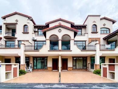 Fully-Furnished: 3 Storey Terrace, Diamond City, Semenyih