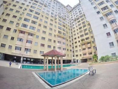 Sky villa apartment (corner unit), serdang perdana for sale