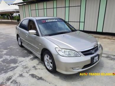 2005 Honda CIVIC 1.7 VTEC (A) ES VTi-S Tip Top Con