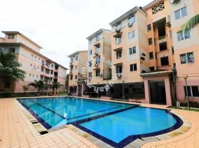 Apartment Saujana Damansara Damai Tingkat 1 [CANTIK]