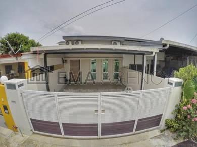 Single storey terrace house, lintas, kota kinabalu
