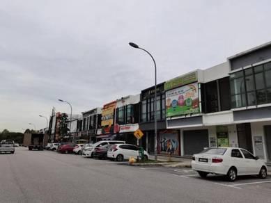 Facing Main Road 2 Storey Shoplot Kota Kemuning Near Mcdonald