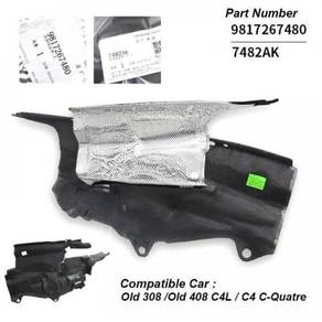 Peugeot 308/408 engine firewall insulation cover