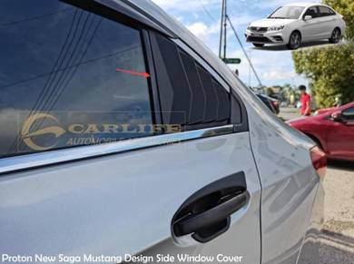 New Proton Saga Mustang Design Side Window Cover