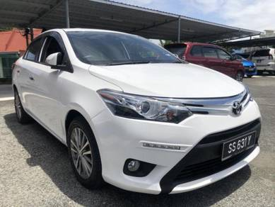 2016 Toyota VIOS 1.5 G FACELIFT (A) CVT 7speeds