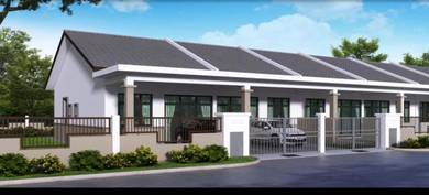 Banting Freehold OPEN MARKET Single Storey Terrace, with 4 Bedrooms Re