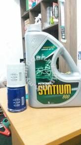 Petronas semi 10w30 kenari kelisa viva kancil
