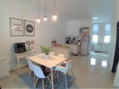 Teres 2 tingkat, Bangi Avenue, below value, cantik, Bangi
