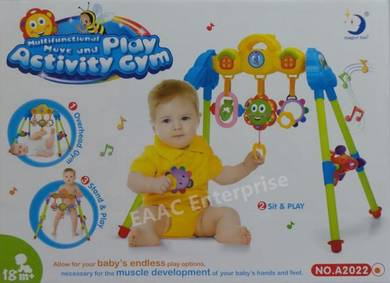 3 MODES Multi-functional Move &Play Activity Gym