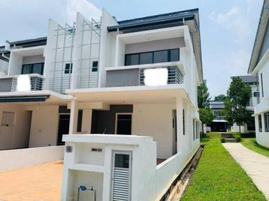 (EndLot) 2 Sty SuperLink Rawang LakeClub Parkhome 24 Hour Security