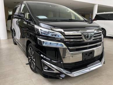 YEAR END SALES!!!2018 Toyota VELLFIRE 2.5X