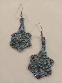 Handmade Austria Crystal Glass Beads Earrings