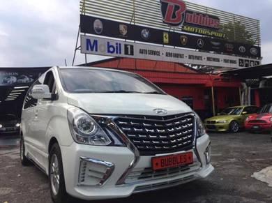 Hyundai starex h1 facelift front bumper set only
