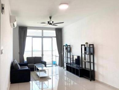 CHEAPEST ! Sandiland Condo 1338sf FULLY Furnished 2 Carpark Georgetown