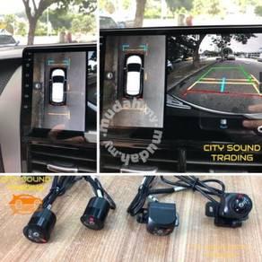 Toyota Wish 360 Surround BirdView Camera
