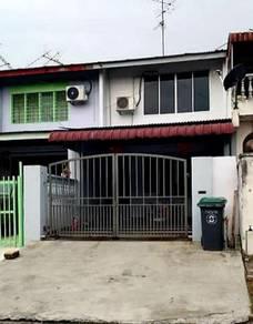Johor jaya    2 storey lowcost    jln seroja (100% srp loan )