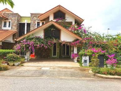 CORNER LOT, OPEN SPACE AND PRIVACY | 2 Storey Semi D House Putrajaya