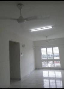 Akasia Apartment Kota Kemuning Corner Unit Under Bank Value For Sale