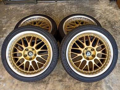 Work Vsxx 18inch Rim made in Japan