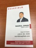 Agent: Nazril Omar