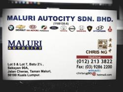 MALURI AutoCity CHRIS NG avatar
