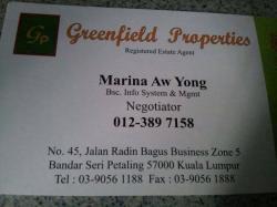 Agent: Marina Aw Yong