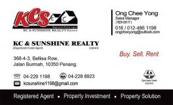 Agent: KC & SUNSHINE REALTY