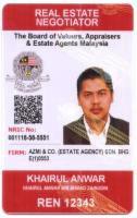 Agent: KHAIRUL ANWAR 012-4488051