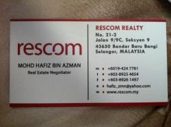 Agent: Mohd Hafiz Azman