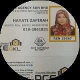 Agent: Hayati Zafirah