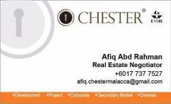 Agent: Afiq - Chester Melaka