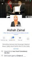Agent: AISHAH ZAINAL 0132063306